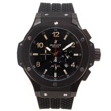 Replik Hublot Big Bang King Working Chronograph PVD Gehäuse mit Black Carbon Fibre Style-Dial-48MM Version - Attraktive Hublot Big Bang King Uhr für Sie 30668